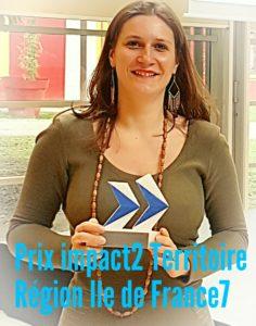 le Prix #Impact² Territoire de la région ILE DE FRANCE